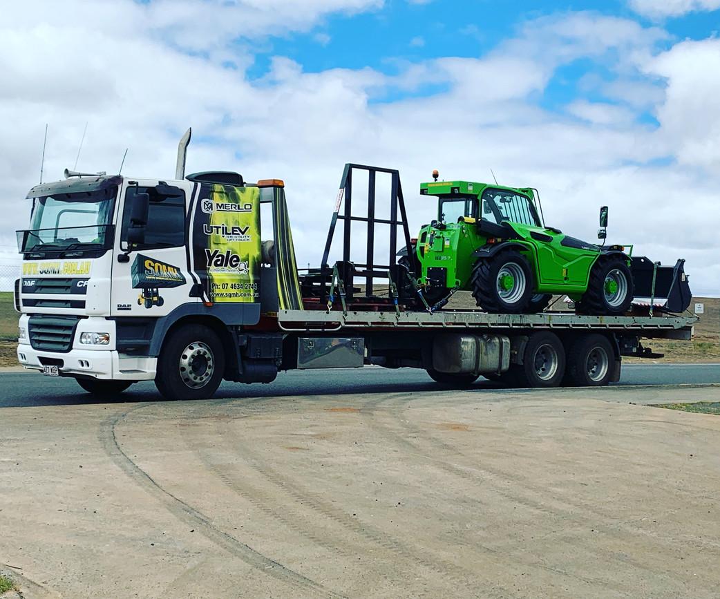 SQMH Truck and Telehandler