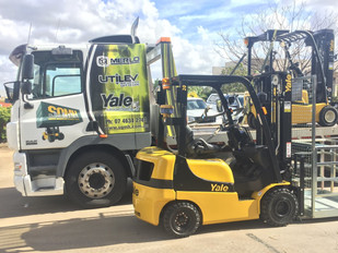 New Yale Forklift