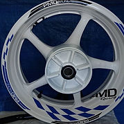 PMD Racing rim stickers