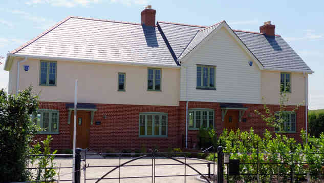 New cottages, Epping