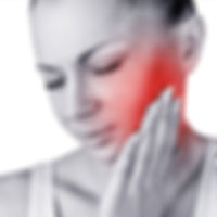 Woman in Pain Holding Side of Her Face