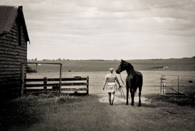 Girls and their Horses.