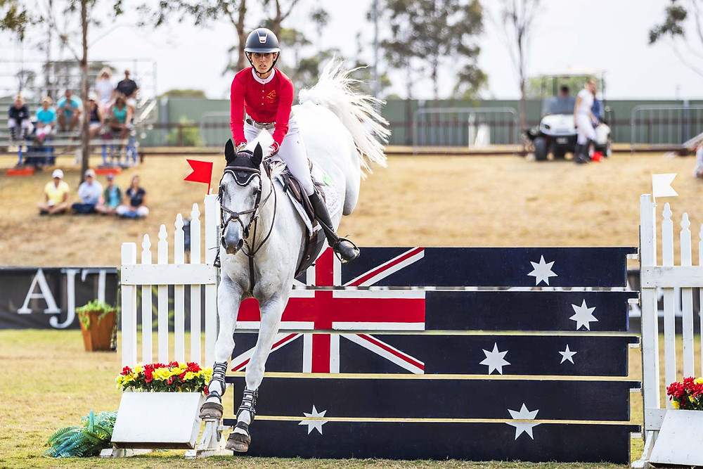 Copyright Australia Jumping Katie Laurie