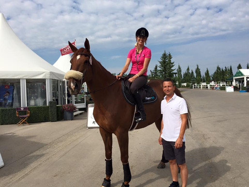 TUCCI AT SPRUCE MEADOWS
