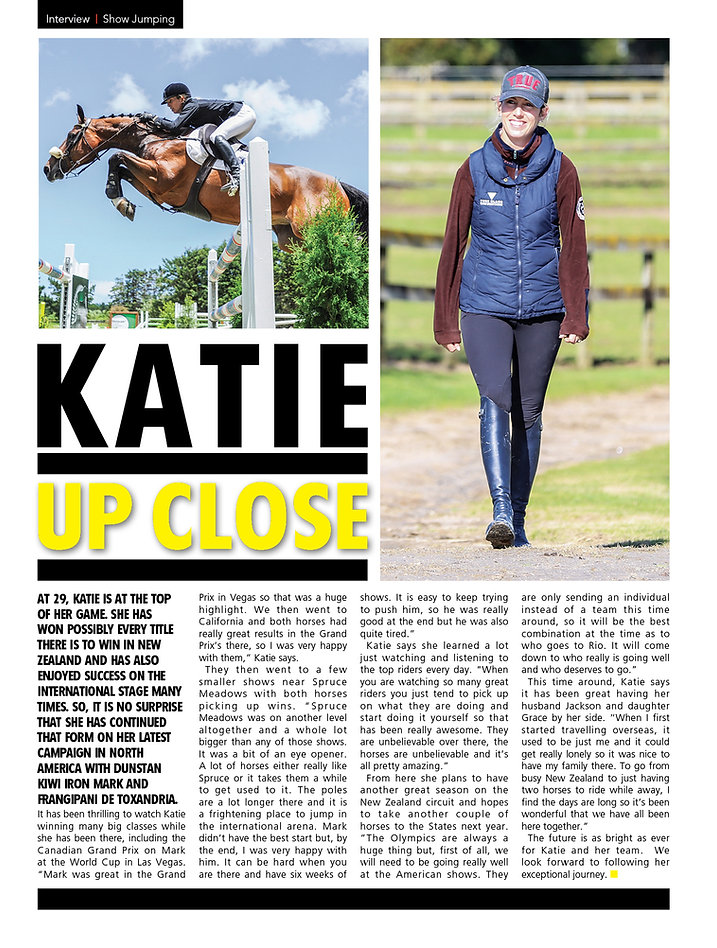Katie Laurie Show Circuit