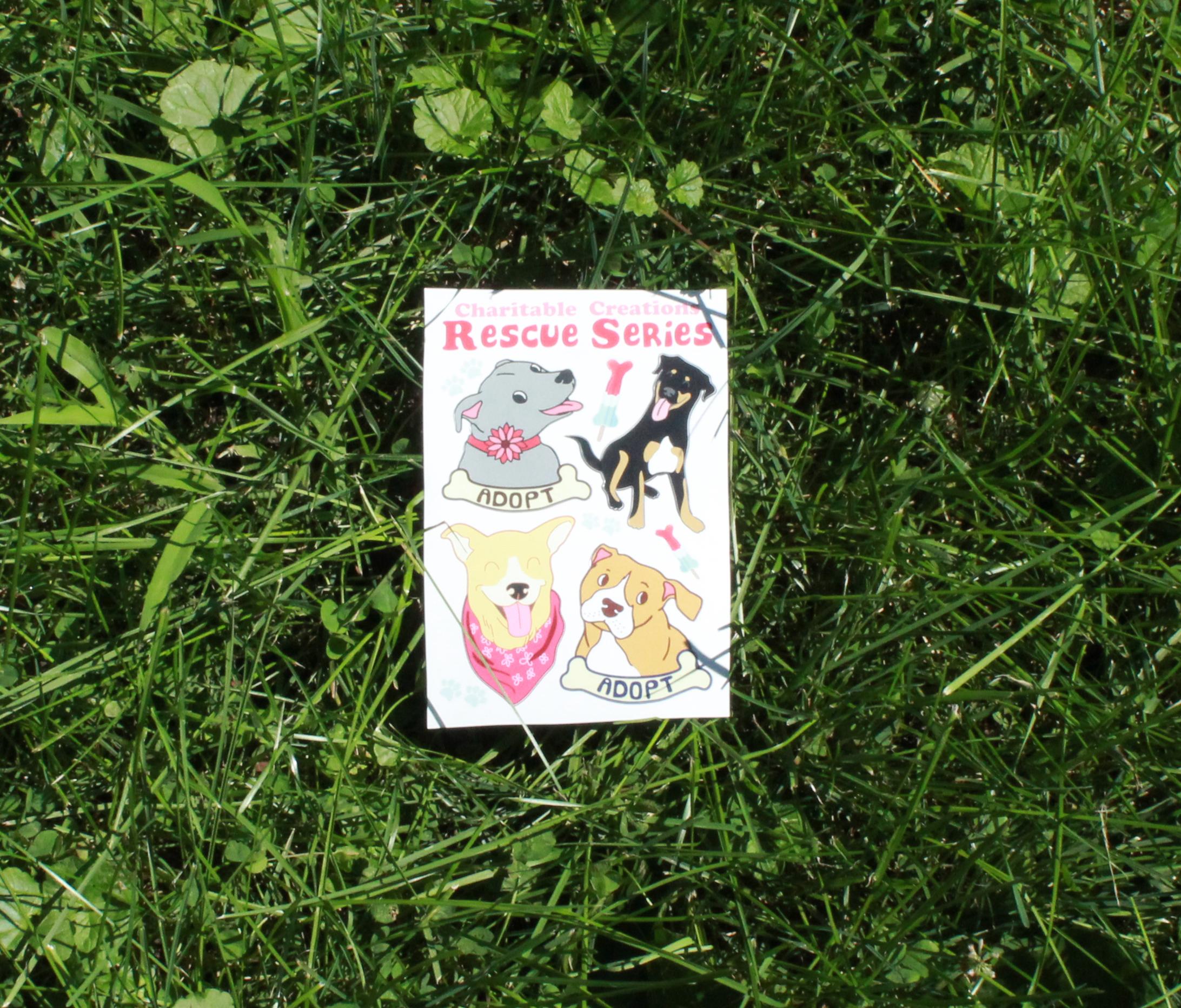 Rescue Series Sticker Sheet