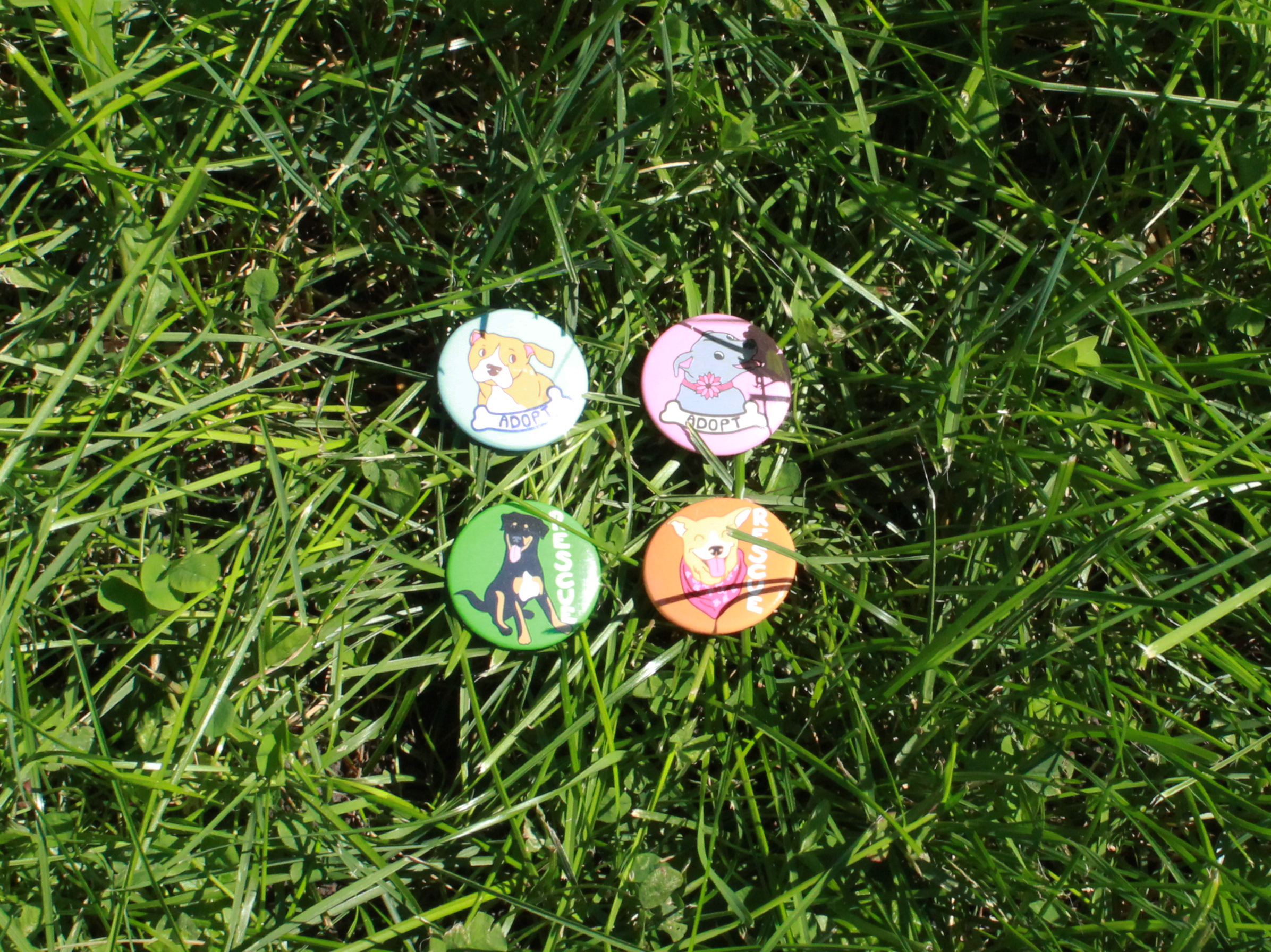Rescue Series Buttons