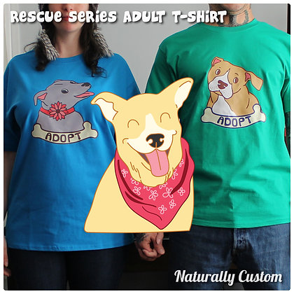 Rescue Series T-Shirt Chinook-Mix (Adult)