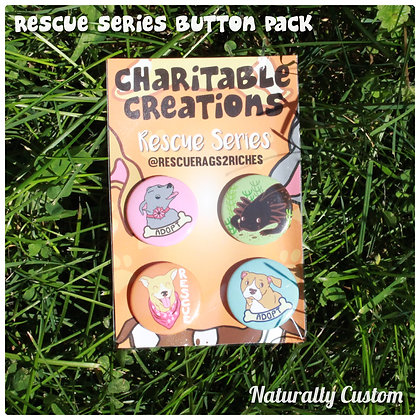 Rescue Series Button Pack