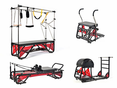 Kit Studio Cross Pilates Completo + Acrílico Vermelho Translúcido - Arktus