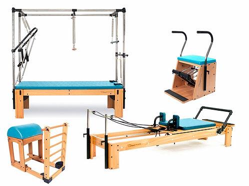 Kit Studio Classic Pilates Completo Azul Celeste - Arktus