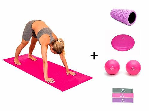 Kit Acessórios para Exercícios Pink - ARKTUS