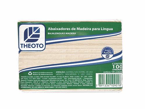 Espátula Multiuso em Madeira - 100un - Theoto