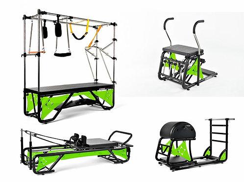 Kit Studio Cross Pilates Completo + Acrílico Verde Fluorescente - Arktus