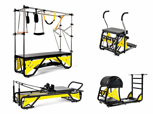 Kit Studio Cross Pilates Completo + Acrílico Amarelo Sólido - Arktus