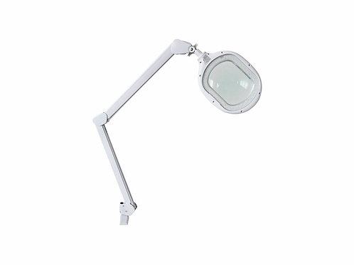 Lupa Articulada - LED Duo Light - Com Apoio Para Mesa - Estek