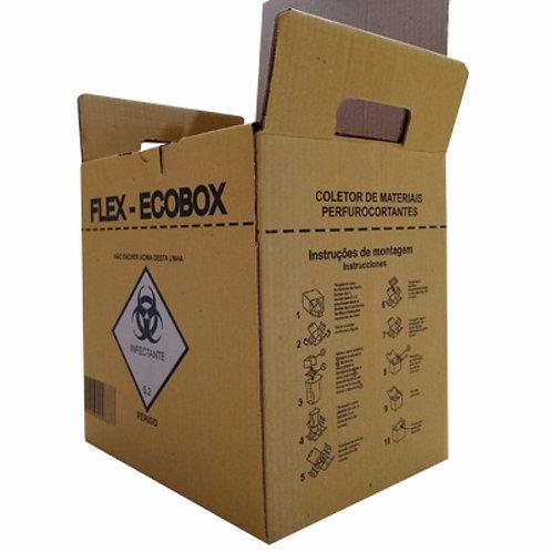 Caixa Coletora de Material Perfurocortante - Ecobox 13LT