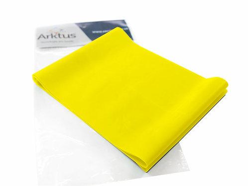 Exercitador Elástico Top Band, Extra Leve Amarelo - 1,50 m - Arktus
