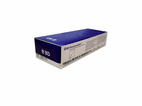 Agulha para Carboxiterapia - 0,30 x 13mm - 100un - BD. Cod. ME03651A