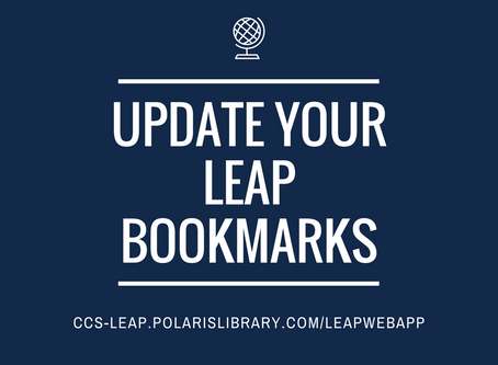 Go Live Update: New Leap URL
