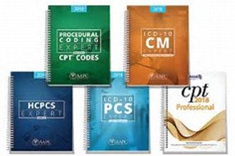 Coding Books-bundle-{ICD-10, CPT, HCPCS}
