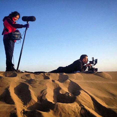 Shooting in Mongolia