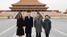 President Trump Visits Beijing