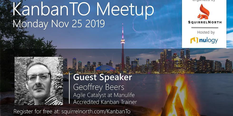 KanbanTO Meetup - Nov 25