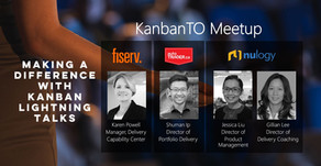 KanbanTO May Meetup - Making a Difference with Kanban