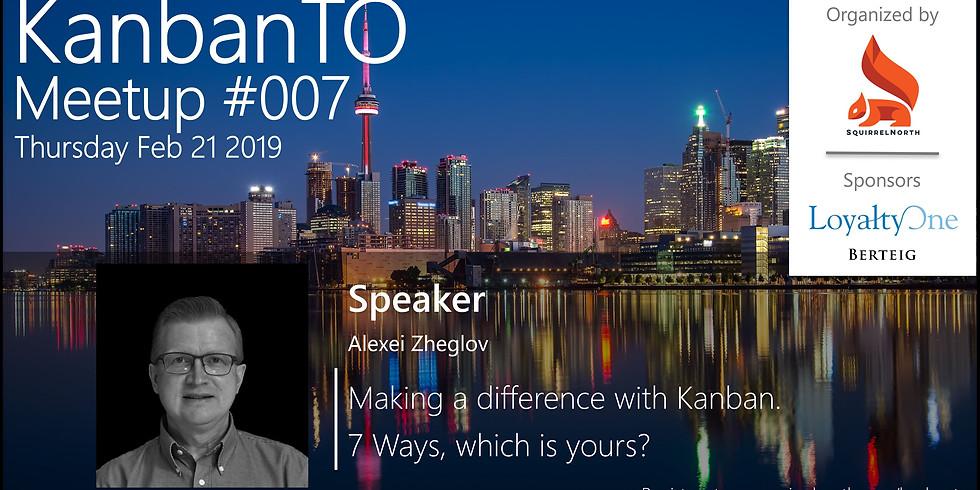 KanbanTO Meetup - February