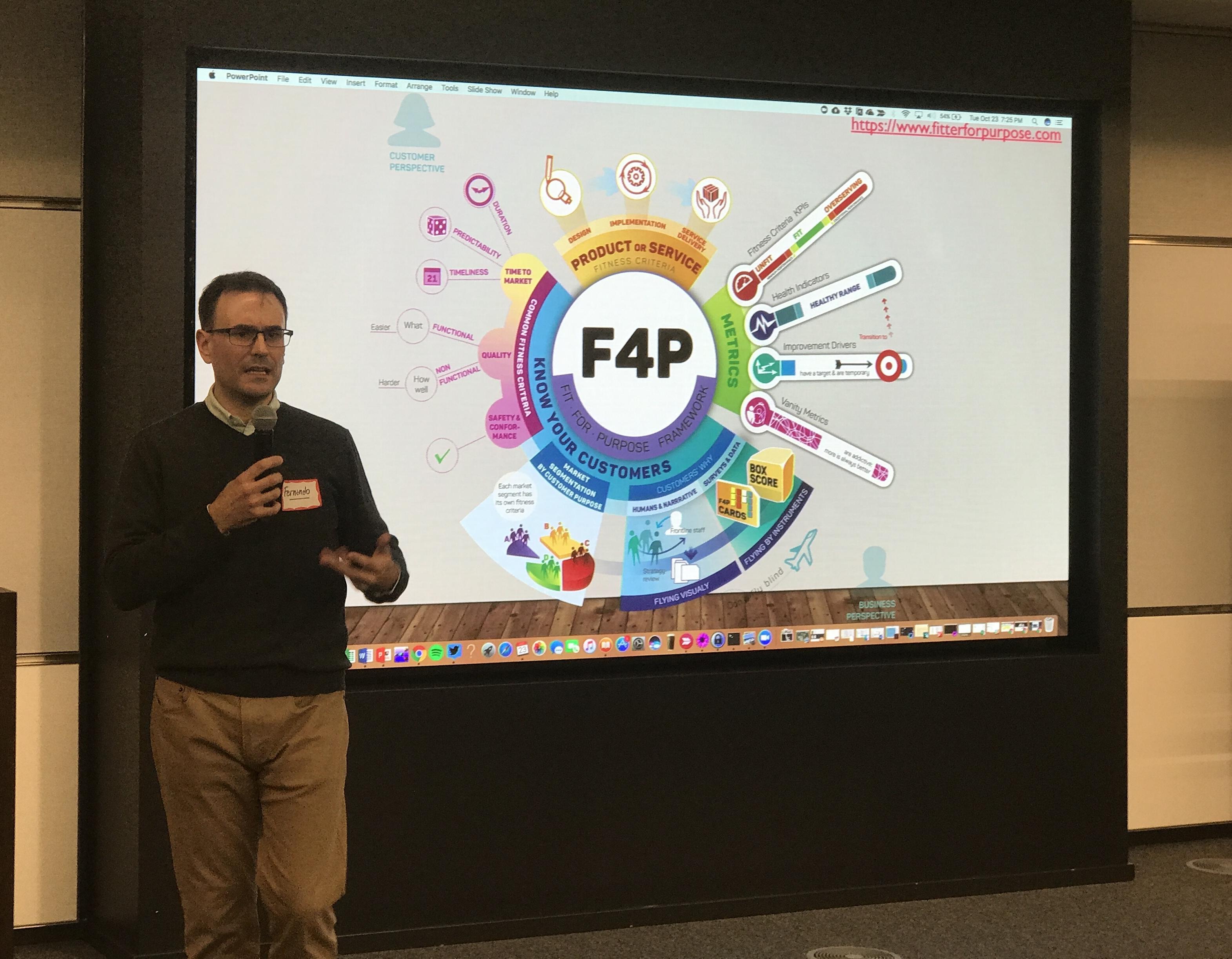 Presentation with Fernando Cuenca