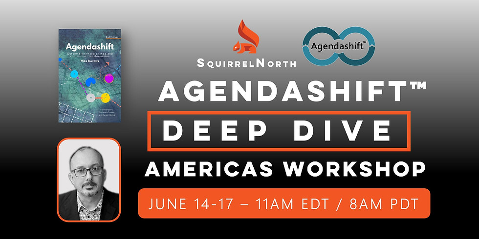 Agendashift Deep Dive Workshop with Mike Burrows (Americas)