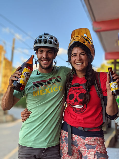 Contact Transierra Norte the ride to book the best mountain bike trip in Oaxaca Mexico. A great mtb trip is waiting for you to come ride and enjoy the culture and food that oaxaca has to offer.