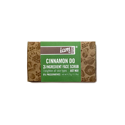 Cinnamon Do Face Scrub (Single Use) (V)