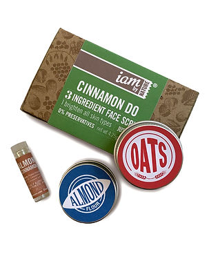 Cinnamon Do Face Scrub Organic Vegan