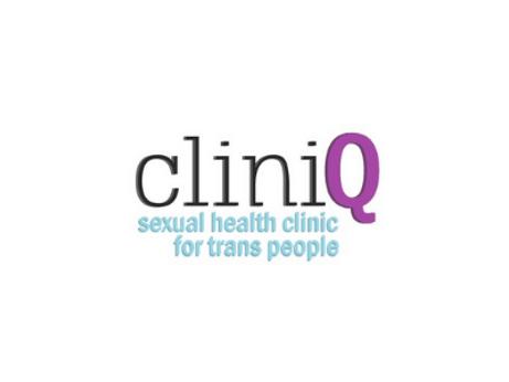 CliniQ logo - sexual health clinic for trans people