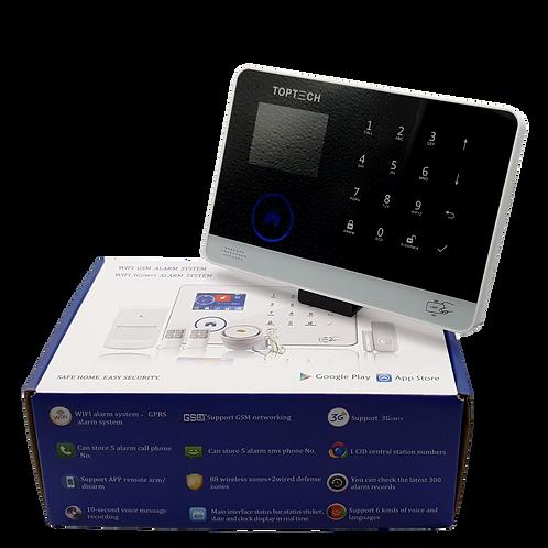 Sistema de alarma inteligente GSM + Wifi