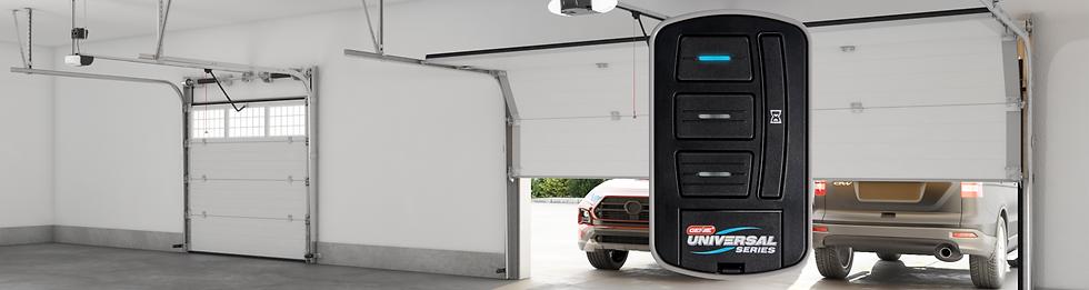 Universal Garage Door Opener Wireless Wall Console