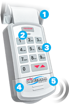 Genie Garage Door Opener Accessory: Universal Keypad