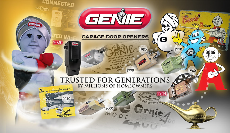 Genie History trusted for generations 01