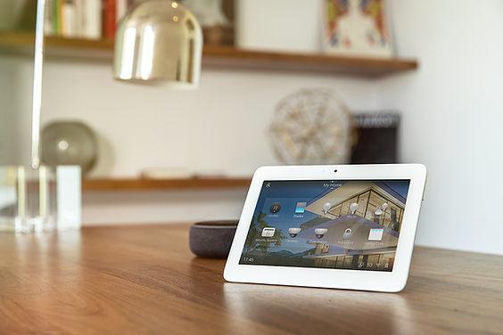 Control 4 Tablet Screen