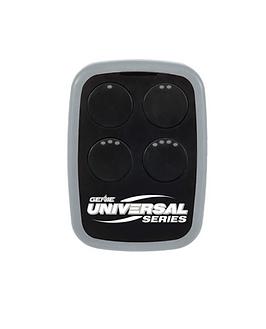 4-Button Universal garage door opener remote grey and black version