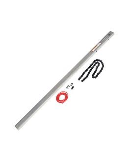 Chain drive garage door opener extension kit