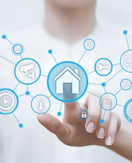 Smart home Automation Control System. In
