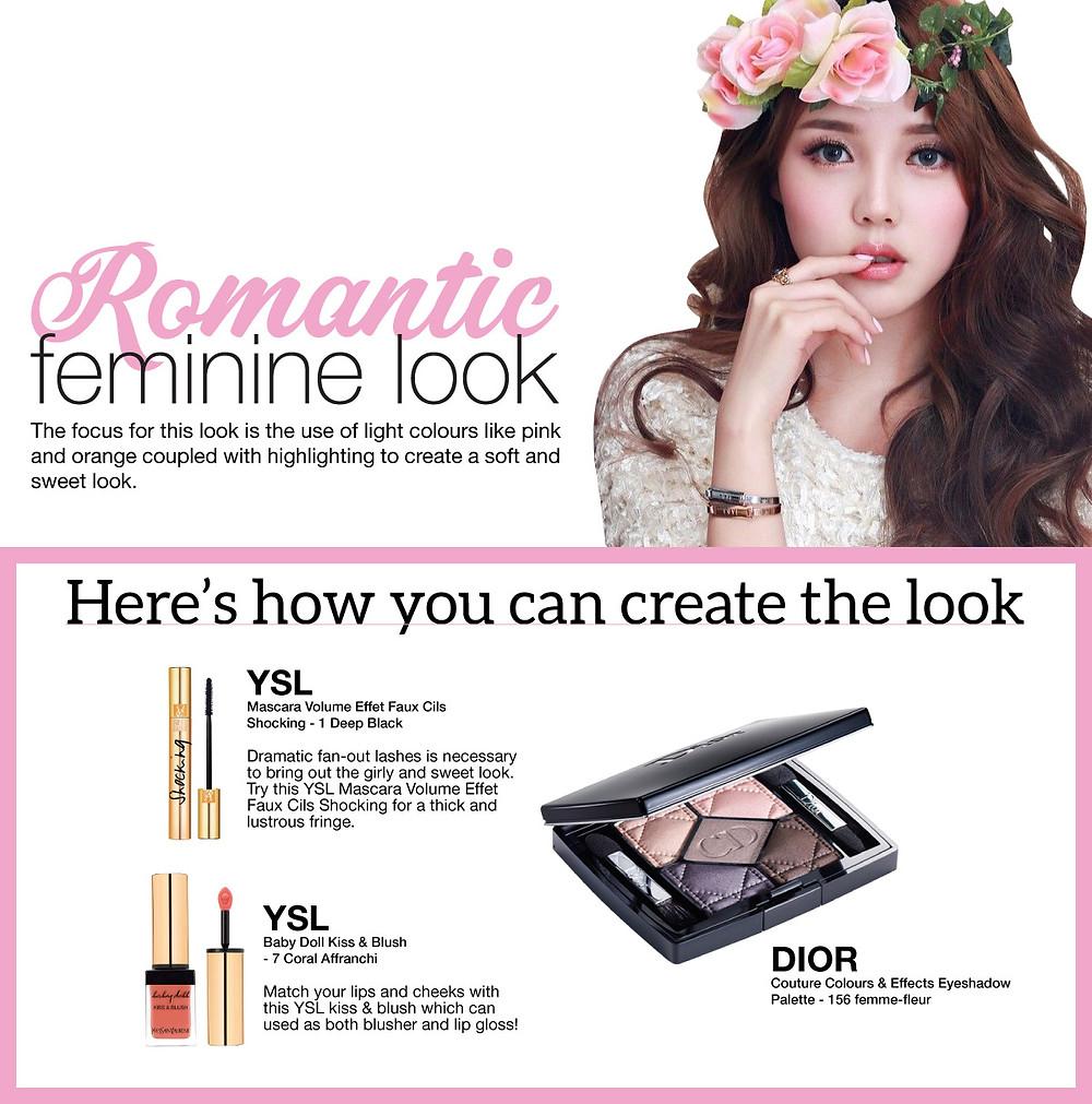 Romantic Feminine Makeup | BeautyFresh