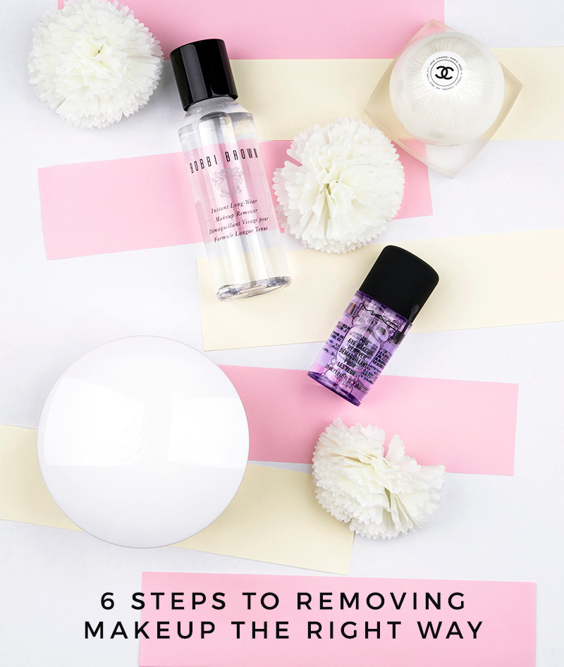 6 steps to removing makeup the right way