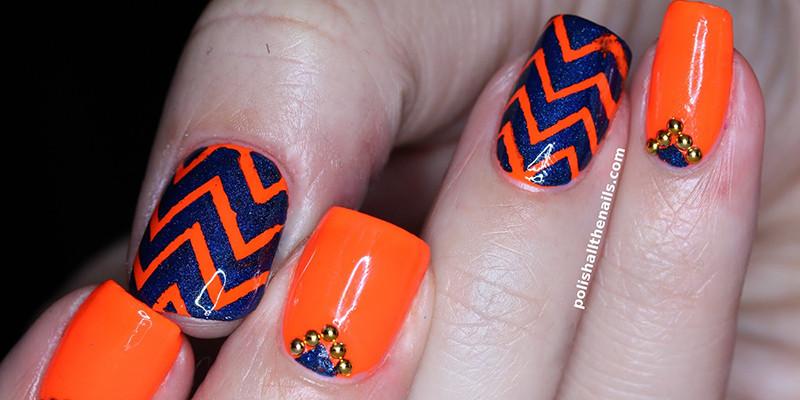 Apricot + Cobalt Combo Nail Polish | BeautyFresh