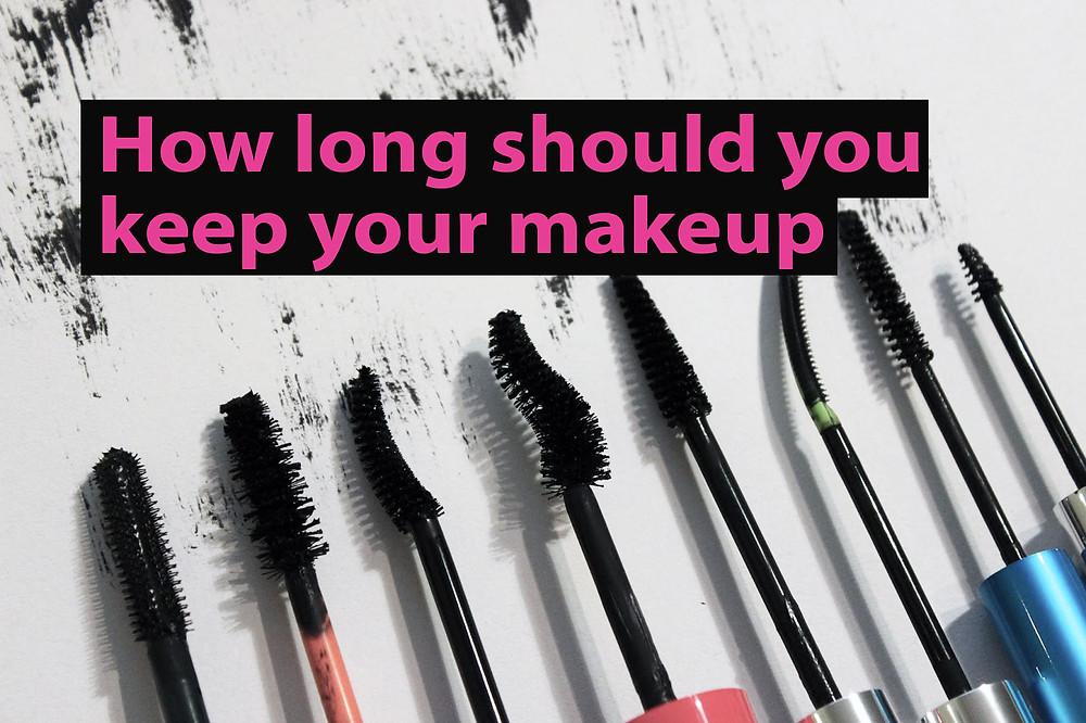 How long should you keep your makeup | BeautyFresh