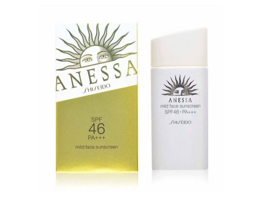 Shiseido Anessa Mild Face Sunscreen SPF 46 PA+++  | BeautyFresh
