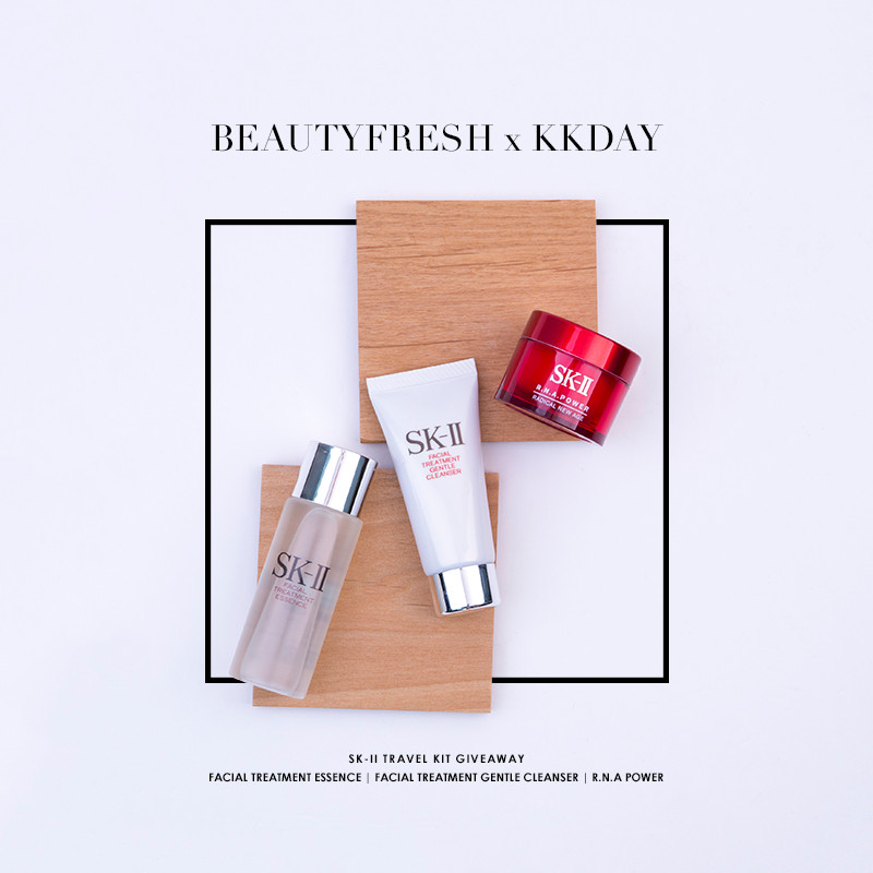 BeautyFresh x KKday: Look your best while travelling